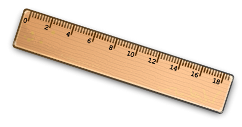 Needlepoint canvases . Clipart ruler wooden ruler