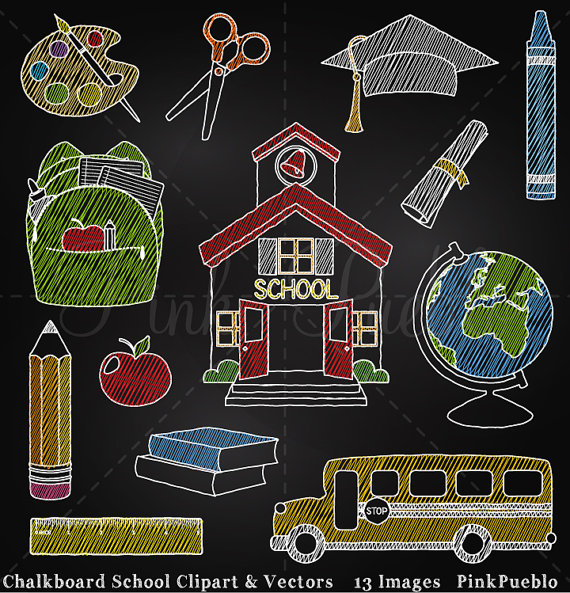 Chalkboard back to clip. Blackboard clipart nursery school