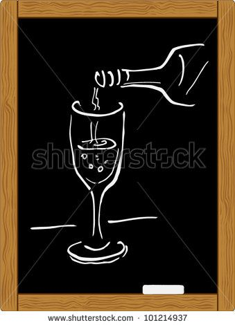 Chalk clipart wine glass.  best quotes images