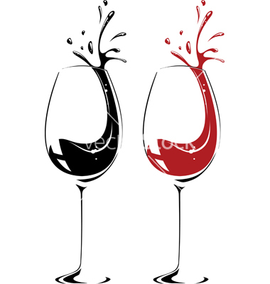 Chalk clipart wine glass. Champagne glasses silhouette at