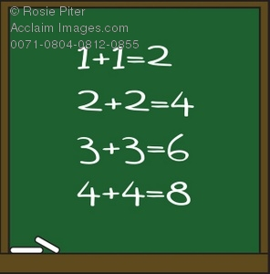 Illustration of a with. Chalkboard clipart green chalkboard