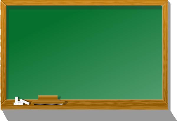 Chalkboard clipart. Clip art at clker