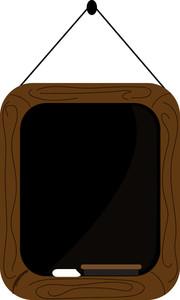 Chalkboard clipart. Free image school illustration