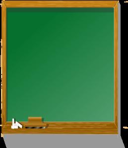 Blackboard clipart classroom. Chalkboard tall clip art