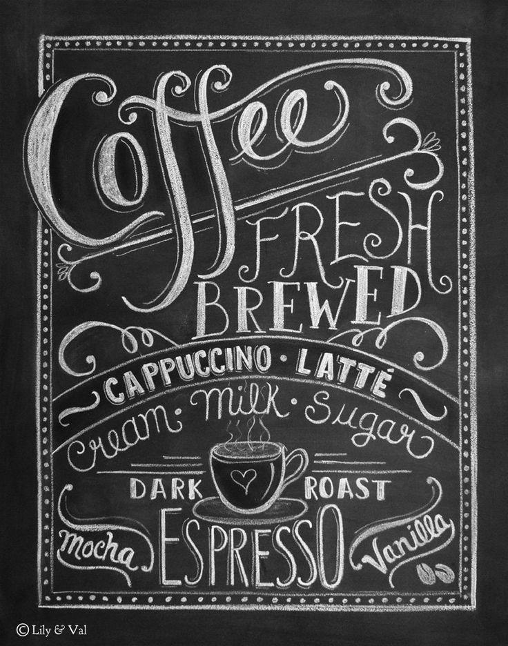 Chalk clipart coffee.  best chalkboard art