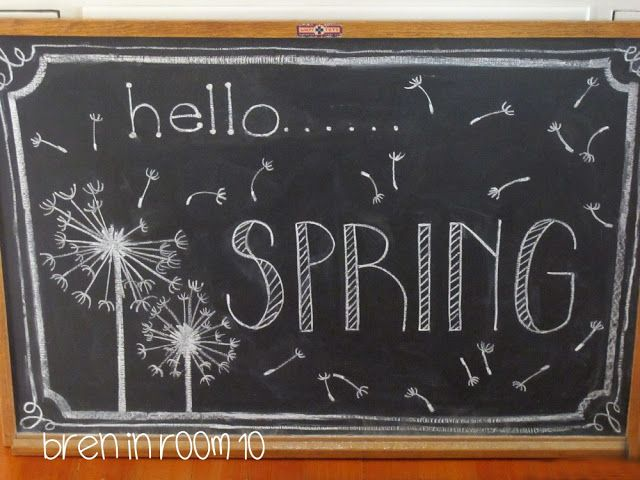 Chalkboard clipart easy. Spring home decor pinterest