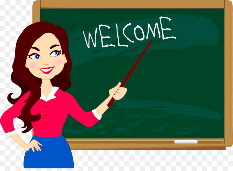 Student teacher blackboard education. Chalkboard clipart elementary school
