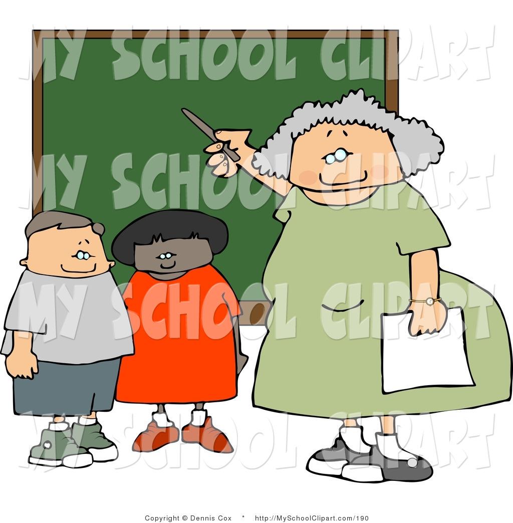 Royalty free stock designs. Chalkboard clipart elementary school