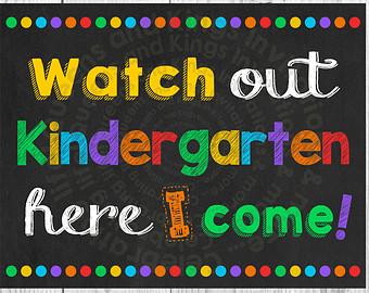 Chalkboard clipart kindergarten. Here i etsy watch