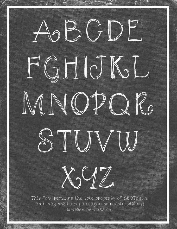 Chalkboard clipart kindergarten. Etchings in glass fonts