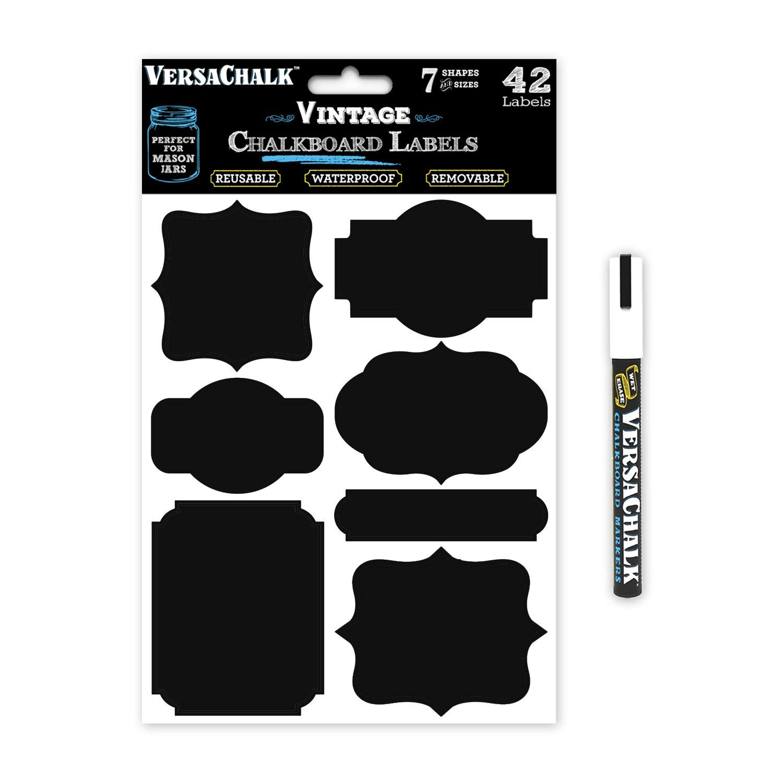 Amazon com stickers for. Chalkboard clipart mason jar