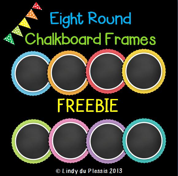 chalkboard clipart round