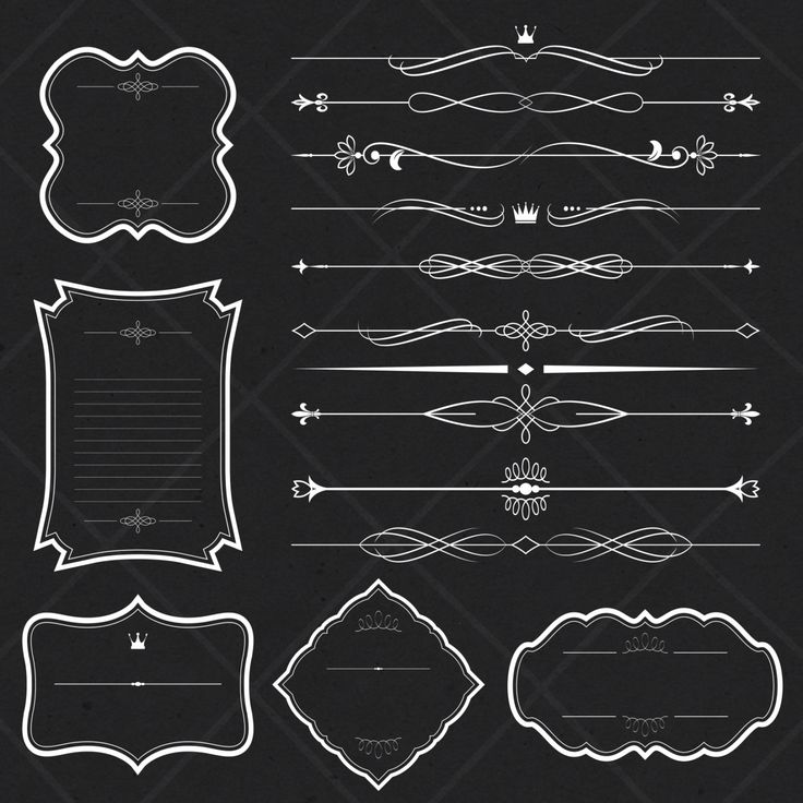 best art designs. Chalkboard clipart scrapbook