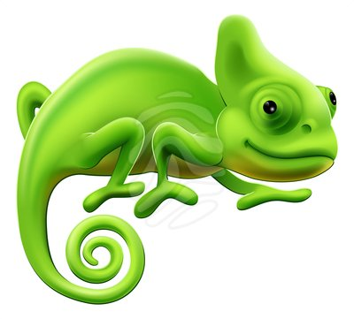 Chameleon clipart. Cute wikiclipart