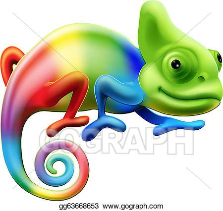 Chameleon clipart. Clip art royalty free