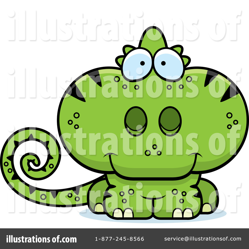 Illustration by cory thoman. Chameleon clipart adorable