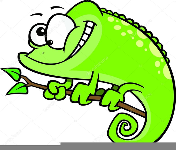 Chameleon clipart animated. Free images at clker