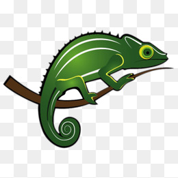 Cartoon png vectors psd. Chameleon clipart animated