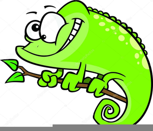 Free images at clker. Chameleon clipart animated