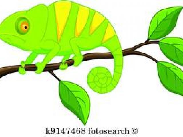X free clip art. Chameleon clipart animated