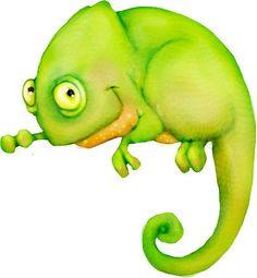 Chameleon clipart baby.  animales pinterest clip