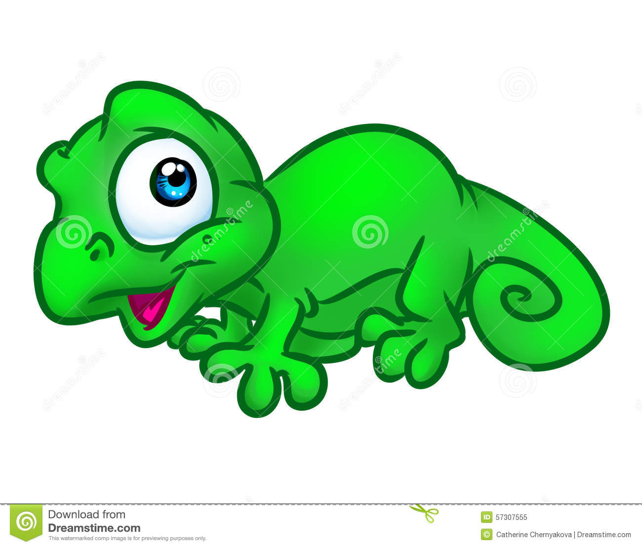 Chameleon clipart baby. Pencil and in color