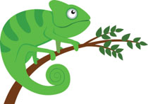 Chameleon clipart brown. Search results for cute