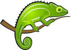 Chameleon clipart colorful. Chibi brotp by draggincat
