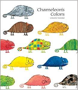 Chameleon clipart colorful. S colors chisato tashiro
