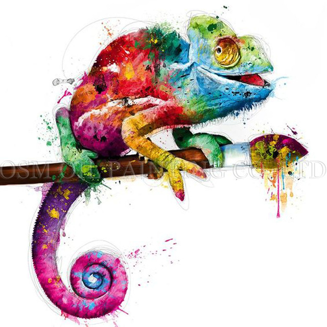 Chameleon colorful
