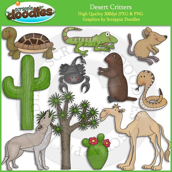 Critters clip art products. Desert clipart desert ecosystem