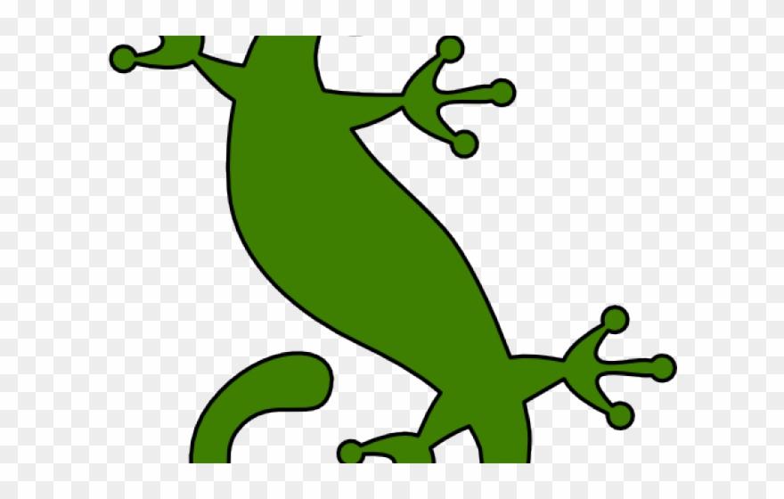 Gecko clipart lizard outline. Silhouette clip art png
