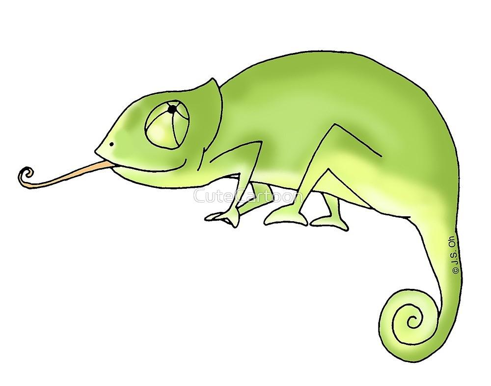Chameleon green chameleon