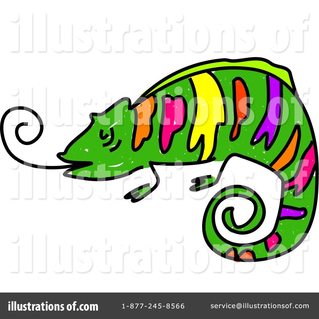 Chameleon clipart illustration. By prawny royaltyfree rf
