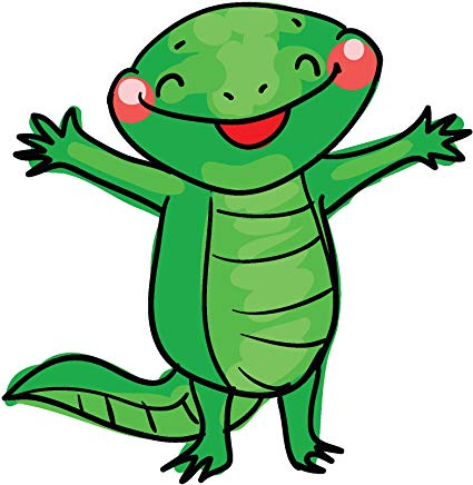 Amazon com cute adorable. Chameleon clipart kawaii