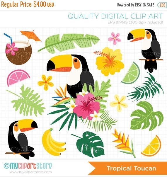 hawaiian clipart tropical bird