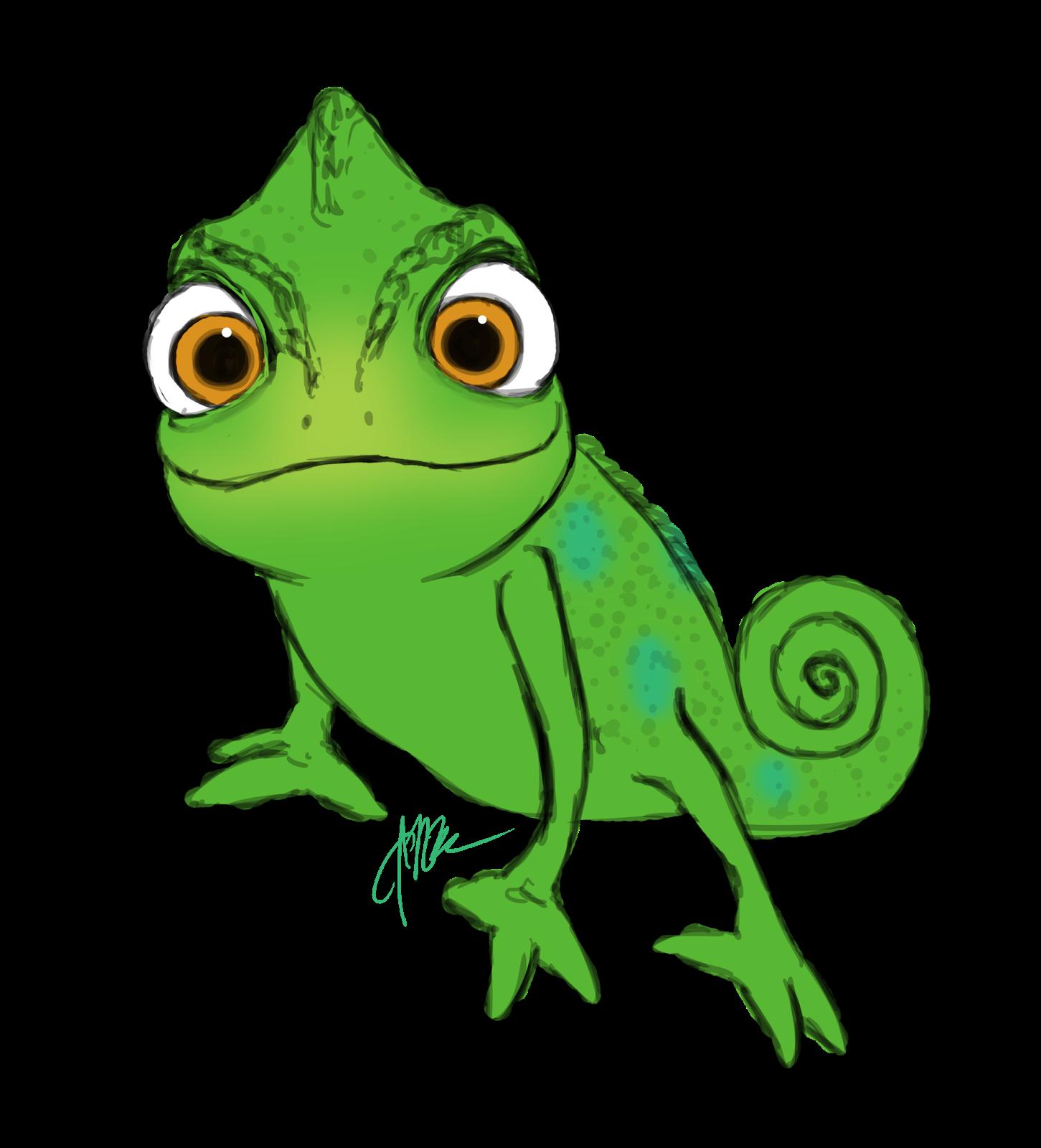 chameleon clipart rapunzel pascal chameleon rapunzel