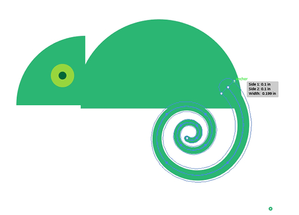 Leapin lizards create a. Chameleon clipart tail