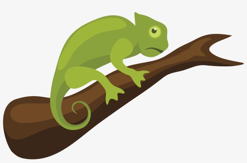 Svg clip lizard . Chameleon clipart transparent background