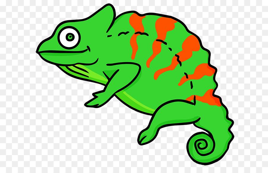 Chameleons lizard common iguanas. Chameleon clipart veiled chameleon