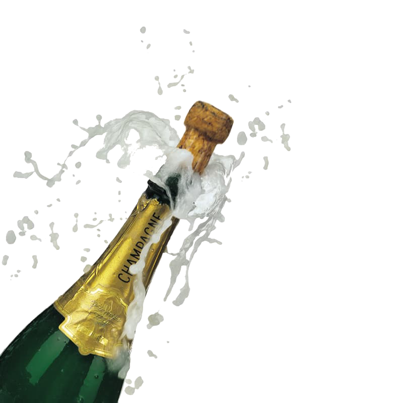 clipart huge freebie. Champagne bottle popping png