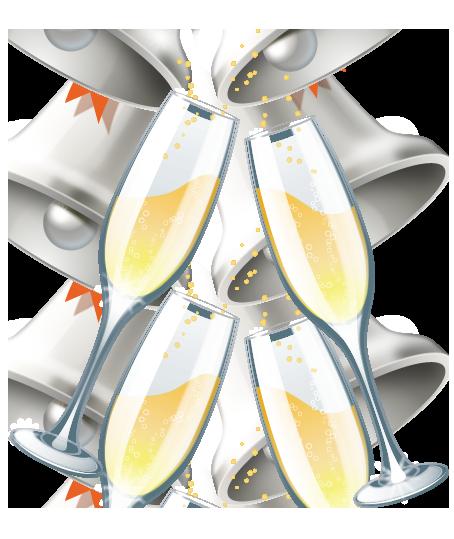 Champaign clipart. Wedding champagne glasses clip