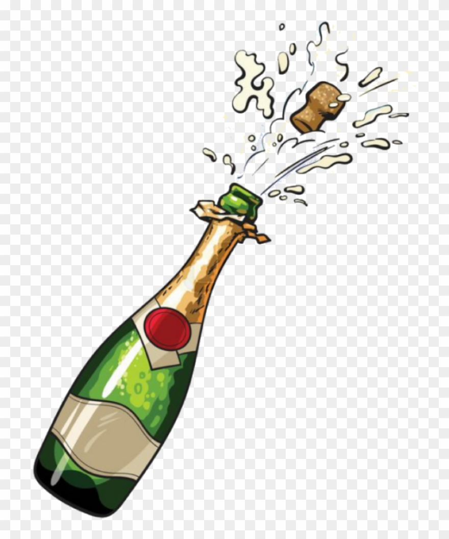 Report abuse champagne bottle. Champaign clipart