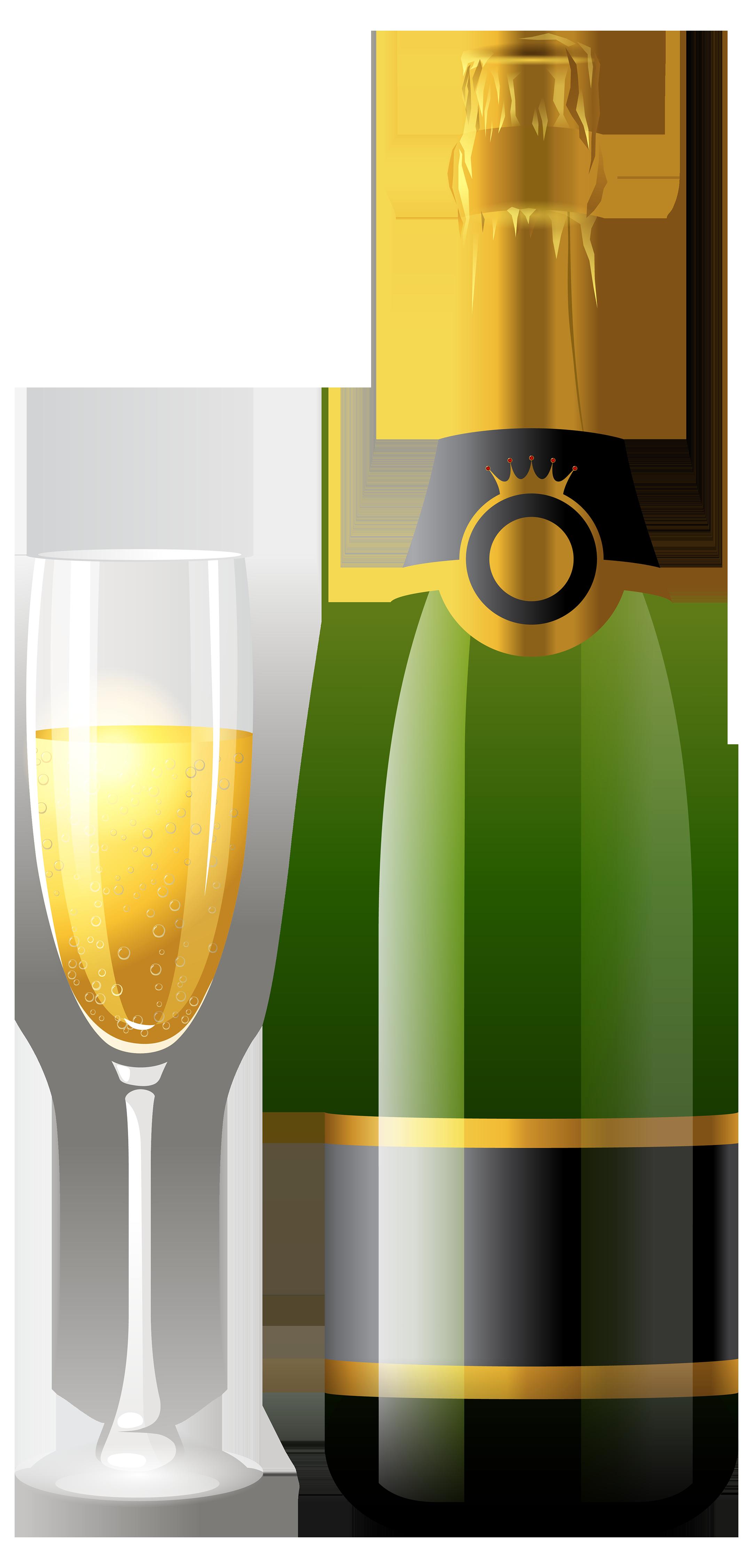 Clipart halloween wine. Champagne bottle glasses szukaj