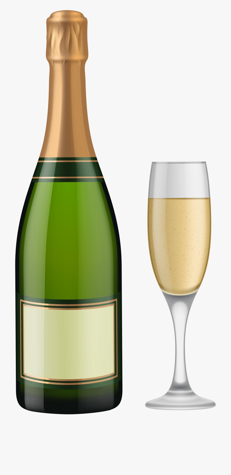 Bottle of champagne png. Champaign clipart clip art