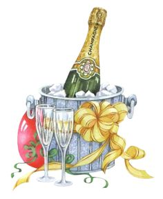 Pin by f on. Champagne clipart birthday champagne