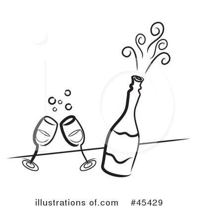 Champaign clipart bubbly. Champagne illustration by ta