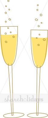 Champagne toast party backgrounds. Champaign clipart bubbly