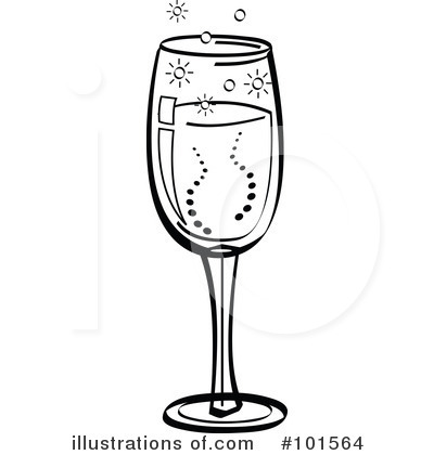Champagne illustration by andy. Champaign clipart bubbly