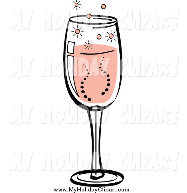 Champaign clipart bubbly. Clip art of a
